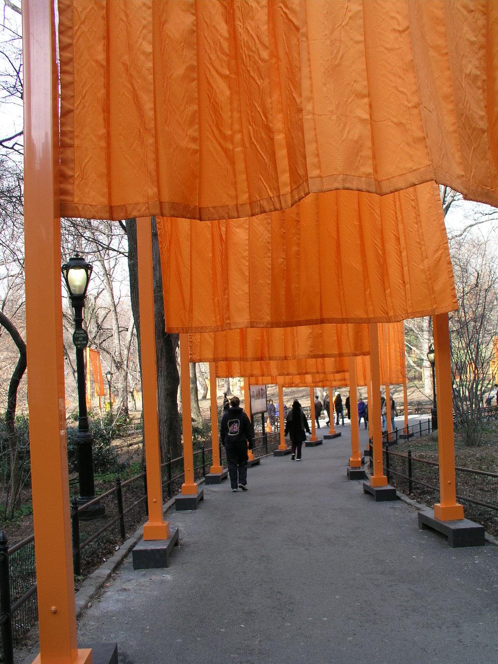 The Christo Gates 2005 in Central Park.3.JPG