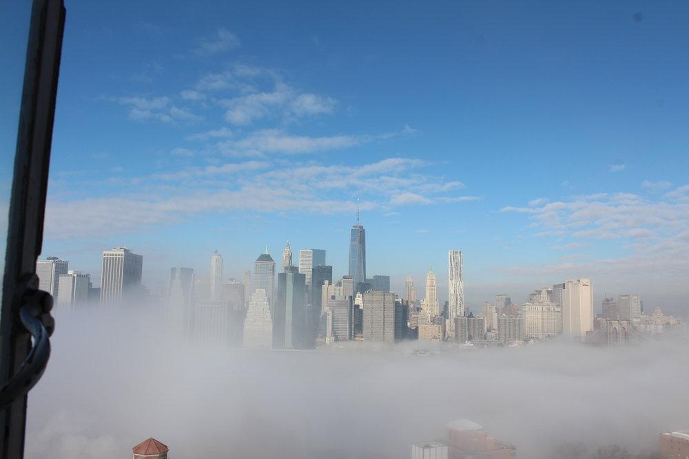 During a Polar Vortex and ice fog enveloped New York.7.JPG