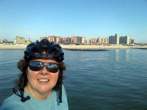Me  bike gear,  from pier looking at CI.jpg
