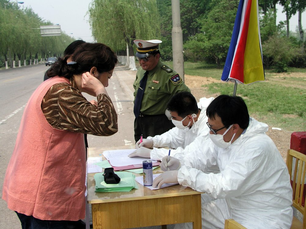 Eventually authorities stopped people fleeing Beijing if they had fevers or symptoms of SARS.6.JPG