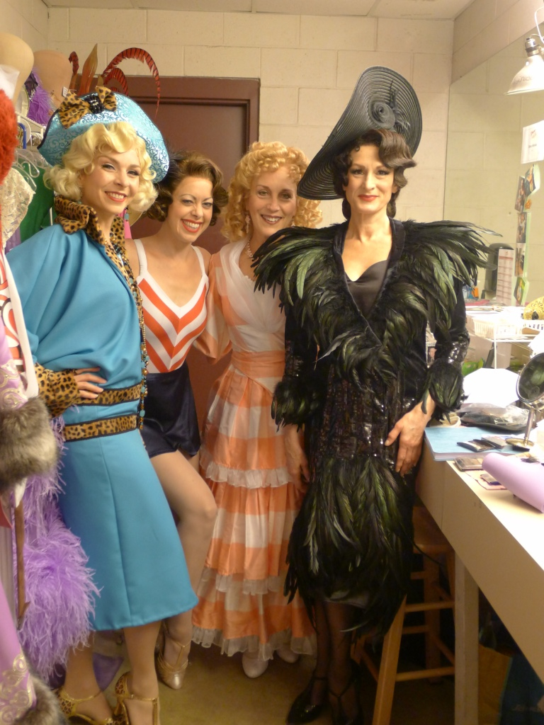 With Laura E. Taylor (Janet), Kari Ely (Mrs. Tottendale), and Corinne Melançon (Drowsy).