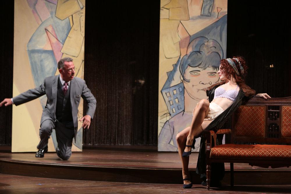 Tempting Herr Schultz (Michael Marotta).