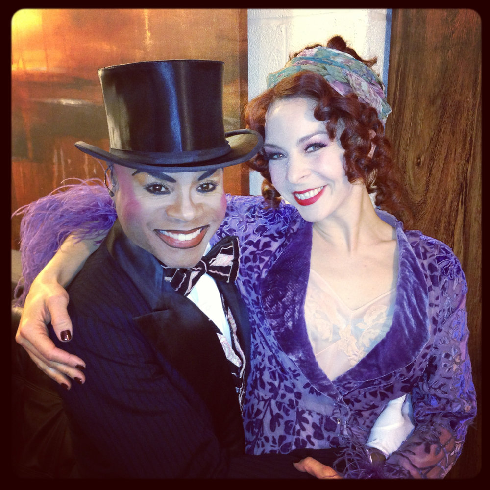 The inimitable Nathan Lee Graham. Fabulous human, astonishing performer.