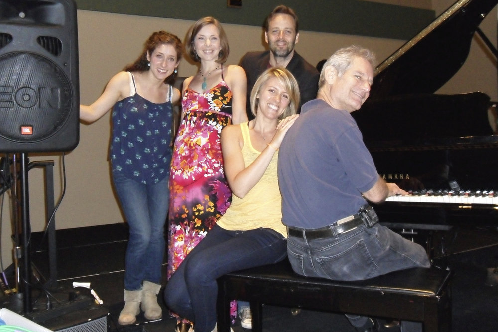 "Interview & performance of ""At the Ballet"" on the radio--so fun!"
