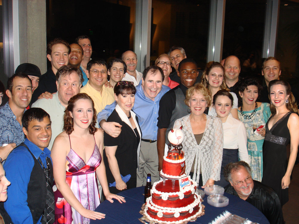 The cast on opening night.