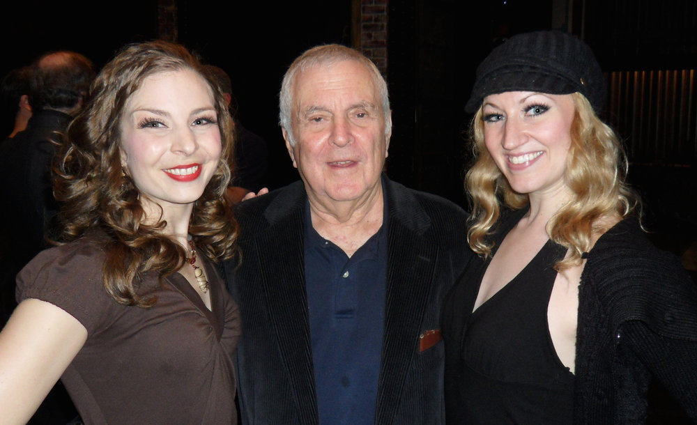 Did we really meet John Kander?!!  Ahhh!