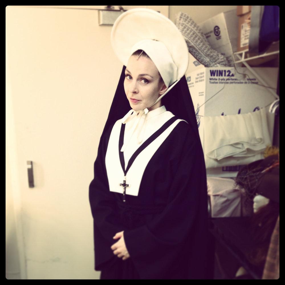 Sometimes a nun...