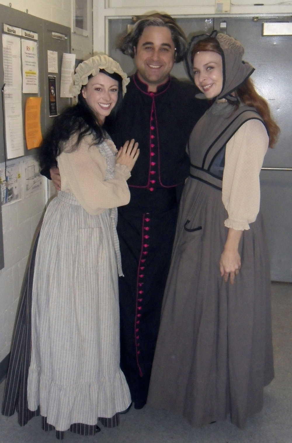 With Lani Corson & Edward Juvier as the Bishop.