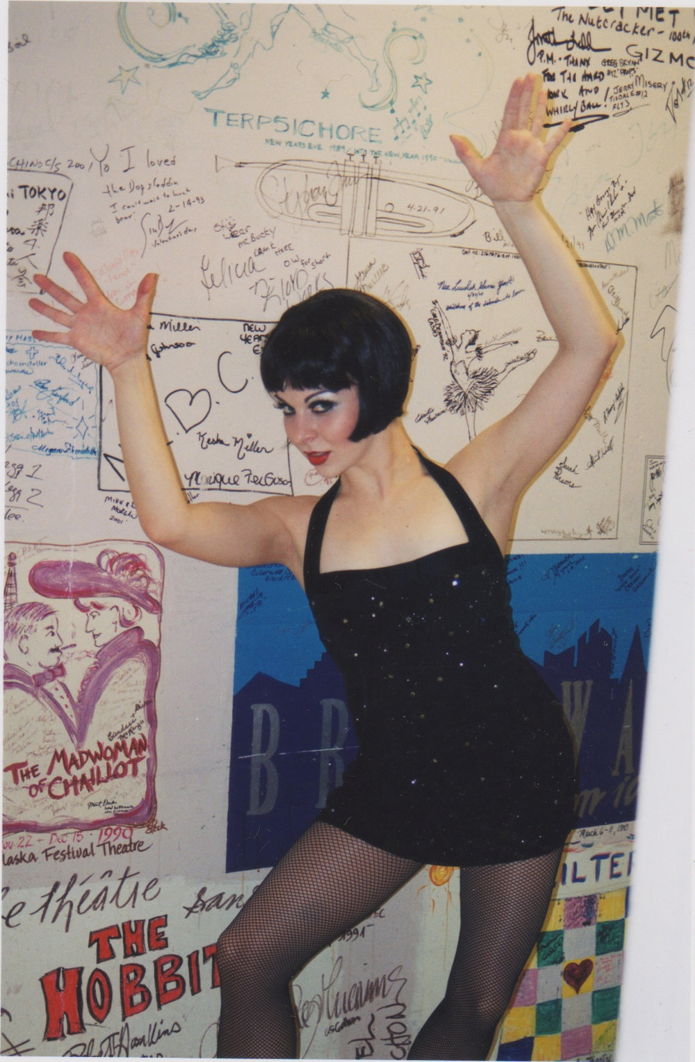 As Velma Kelly.