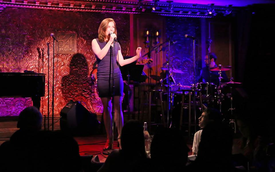 Back at 54 Below.