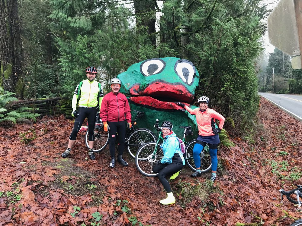 New to Group Rides? - Join us for short, easy paced group rides as we complete the Chilly Hilly in segments (avg. 8 miles round-trip). On the day of the Chilly Hilly we'll ride the 33 miles together as a group. *Celebratory Chili Feed, post ride, on day of event. *The Chilly Hilly is a Cascade Bicycle Club event; cost $30-$40.Ride start times - 9:00 a.m. Ride Dates:1/07/18 - Winslow to Rolling Bay1/14/18 - Rolling Bay to Wilkes1/21/18 - Manzanita Park to New Rose Cafe1/28/18 - Island Center Hall to Lynwood Center2/04/18 - Lynwood Center to Pritchard Park2/11/18 - Waterfront to Pritchard Park2/18/18 - whole route practice ride2/25/18 - Chilly Hilly!All rides have a cafe break either at the midway point or after.Ready to sign-up? have a question?Contact me, Elizabeth@buckleyrealestate.com