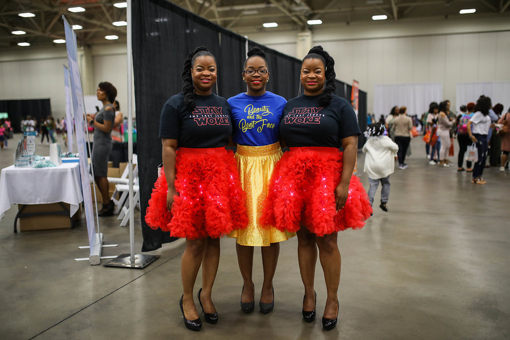 BELLA KINKS DFW NATURAL HAIR EXPO 2017 -