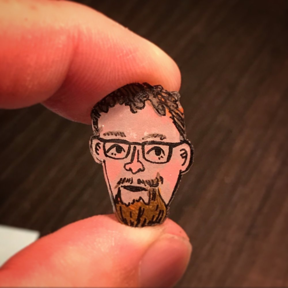 Shrinky Dink Head