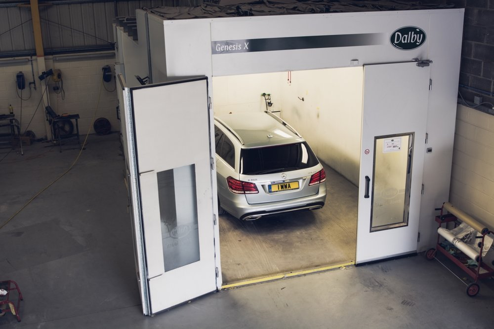 Dalby Spray Booth at Scuffed Up