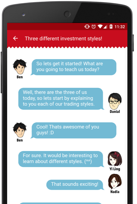 Learn the basics of investment & trading! - Asukabu! School is a friendly comic-style syllabus for super-beginners who want to learn the fundamentals of investing in stock! Start learning zero, till you be a hero!