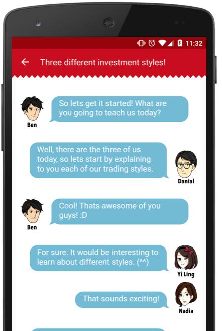 学习基本投资知识! - 在ASUKABU!应用里我们准备了一个入门友好的课本让你们学习,了解投资股票的知识。