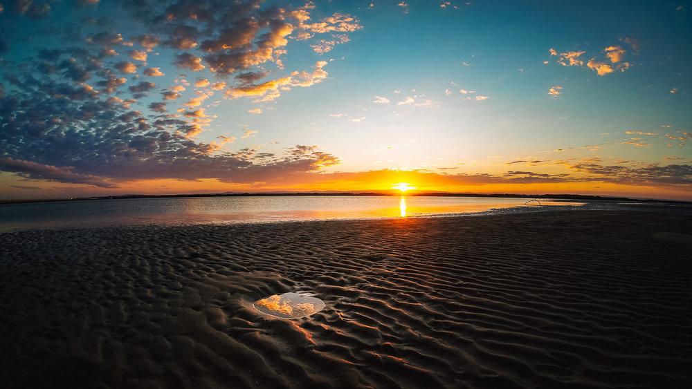 Sunset & Stingray Hole, Hay's Inlet