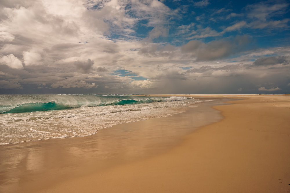 Surf in my favourite corner of the island, down in the wild south-east.