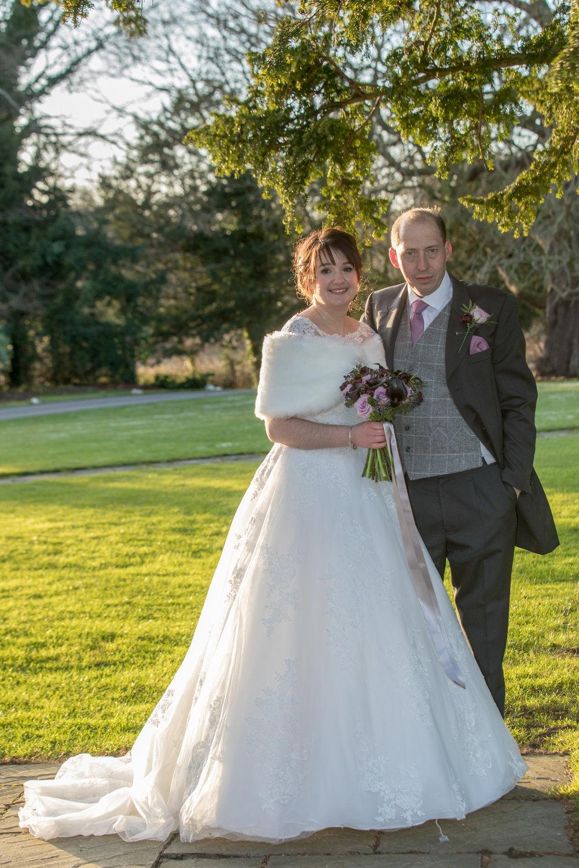Natalie and Simon - Hazelwood Castle 27th December 2017