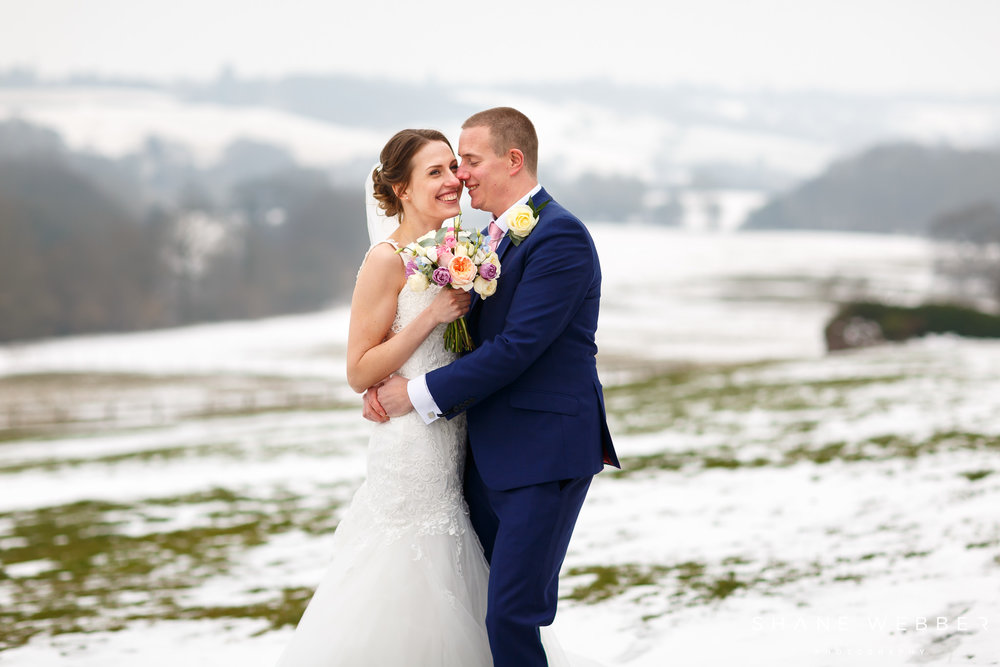 Winter wedding flowers Woodhall hotel and spa Florist harrogate