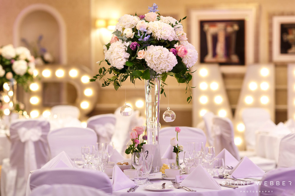 Tall Table Centres florist harrogate