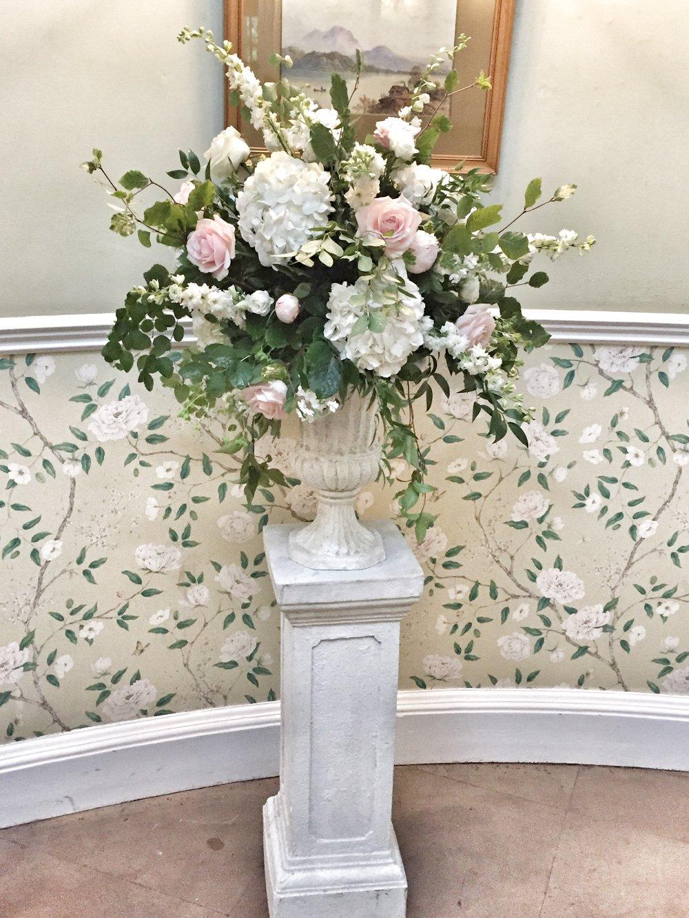 Pedestal Arrangement florist harrogate