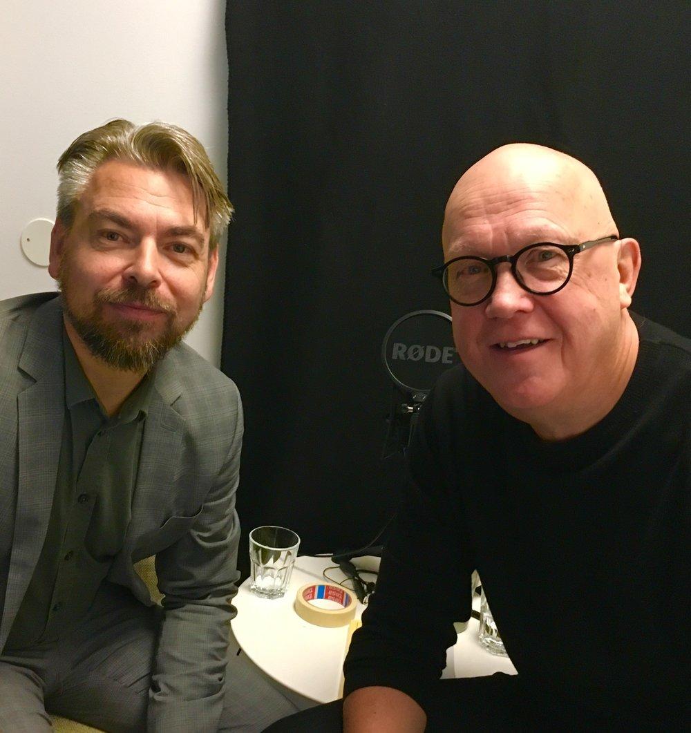Love Lönnroth och Greger Hjelm