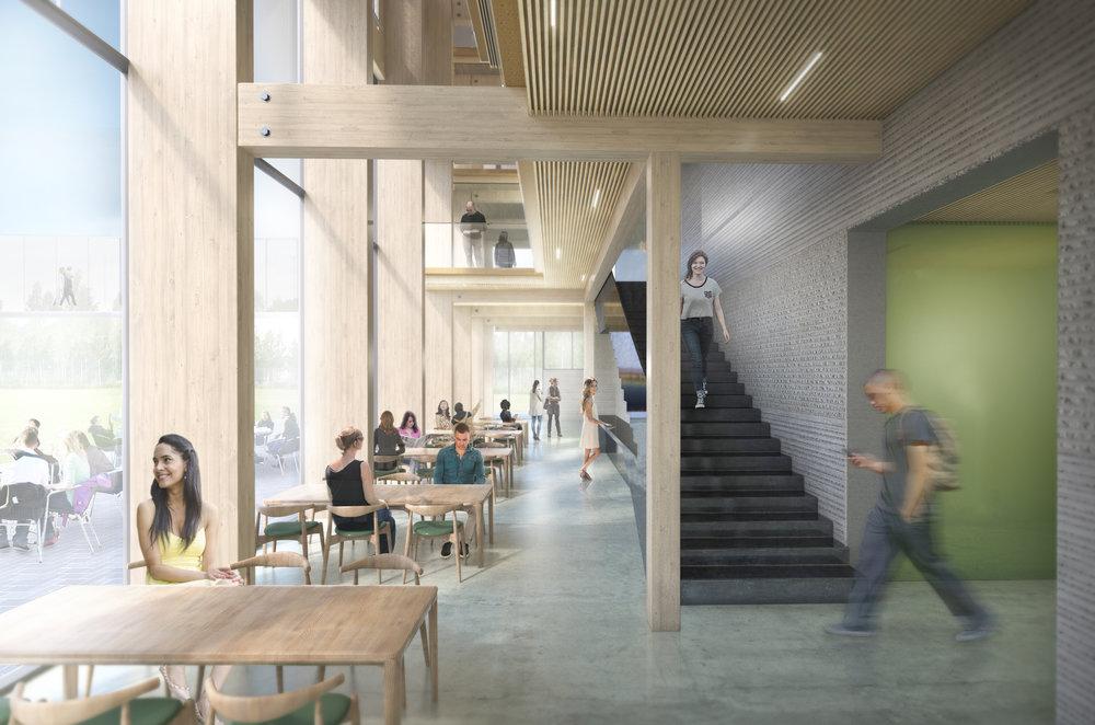 NTNU Gjøvik_Interiør fellesareal@Reiulf Ramstad Arkitekter AS.JPG