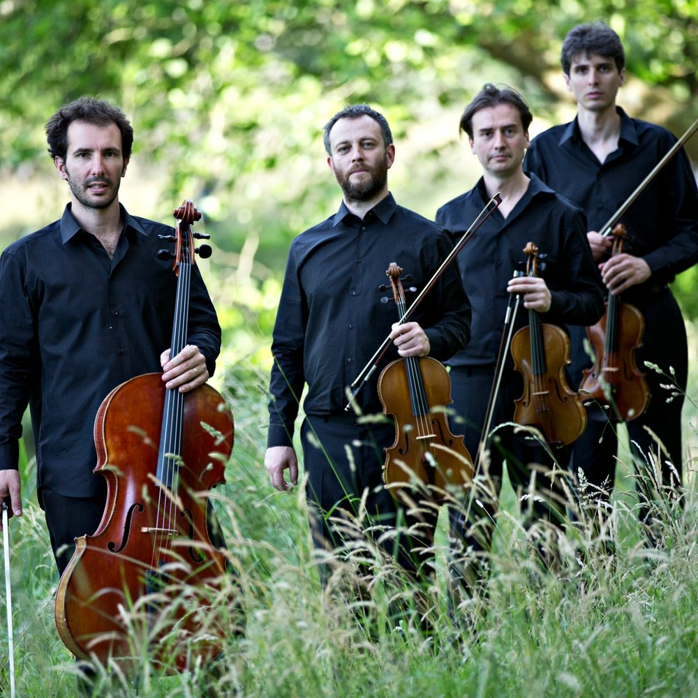 BIOGRAPHY - Founded in 2006 by four musicians from the National Higher Conservatory of Music of Lyon and Paris – Julien Dieudegard and Frédéric Aurier, violin, Julian Boutin, alto, Luc Dedreuil, cello – the Béla Quartet champions the repertoire of the 20th century as well as the work of contemporary composers.In 2013, the quartet released two records. One was dedicated to a piece co-written by Thierry Blondeau and Daniel D'Adamo, Folding and Unfolding from the Cuitcatl Collection on the label La Buissonne. The second record, Métamorphoses Noctures, was dedicated to the music of Ligeti and was released by AEON. The latter received universal critical acclaim (ffff Télérama, Luister 10 Award, Gramophone Critic's Choice Award,…).Full biographies are available in: ENRepertoire: 18/19