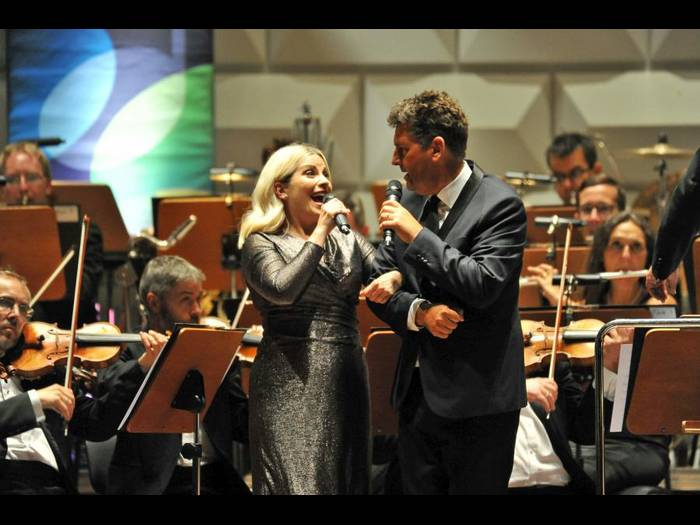 Louise Dearman and Graham Bickley Photo: Ansgar Klosterman