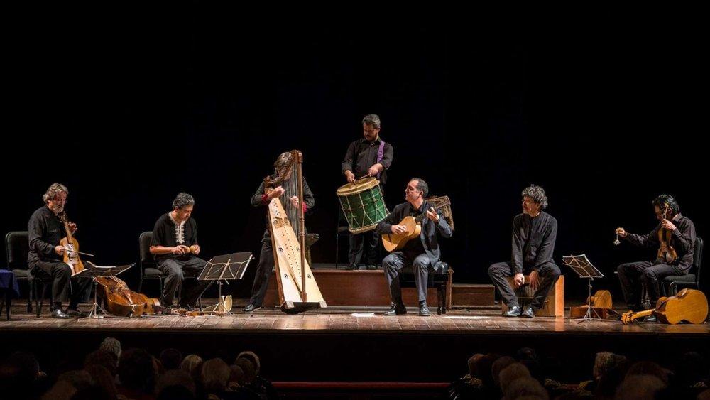 Jordi Savall with Hesperion XXI & Tembembe Ensamble Continuo