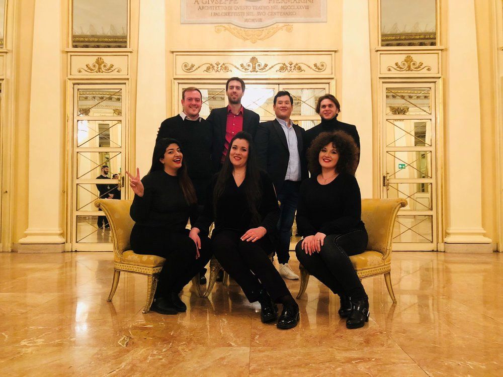 The new class of the Academy of lyric opera 2019-2021