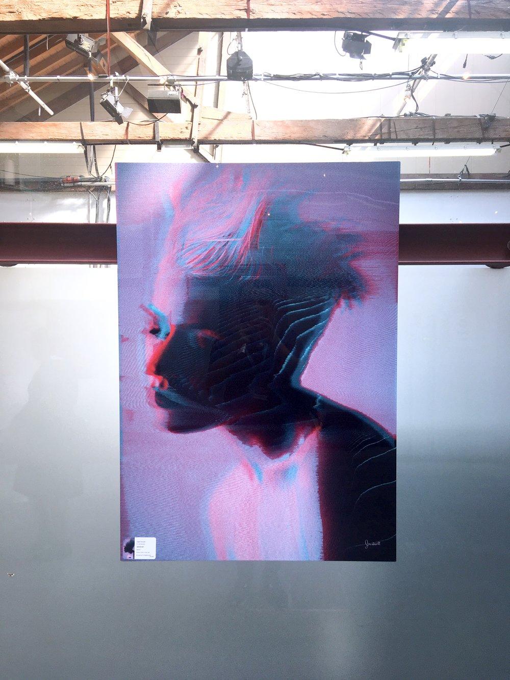 Artwork at event, FutureFest18, London