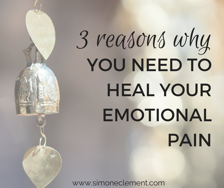 how to relieve emotional pain