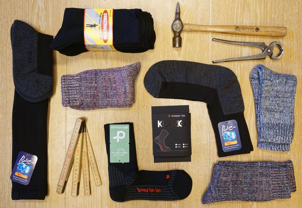 Arbejds Strømper   Arbejdsstrømper i lækker og slidstærk kvalitet. Vi har et stort udvalg af strømper. Alt fra sommerstrømper til varme sokker af super kvalitet. Stort udvalg i modeller, farver og mærker!