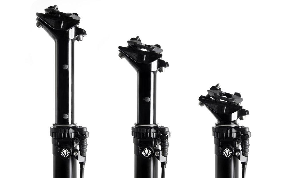 Vecnum moveLOC - absenkbare Sattelstütze mizt bis zu 200mm Verstellweg