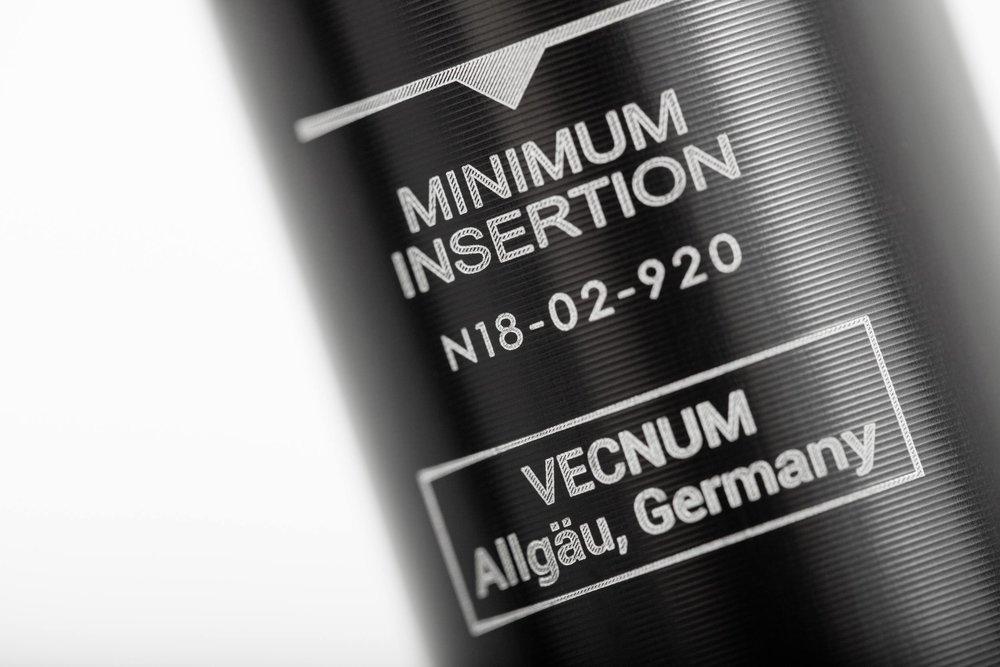Copy of Absenkbare Sattelstütze Vecnum NIVO - Mindesteinstecktiefe