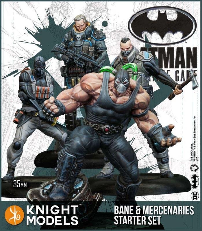 Bane And Mercenaries Starter Set