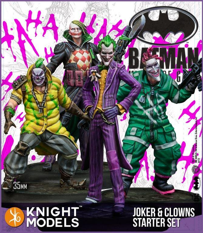 Joker And Clowns Starter Set
