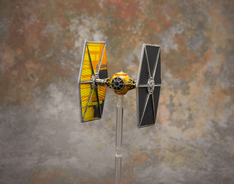 Miniature Painter - Jayadan - Repainted Tie Fighter
