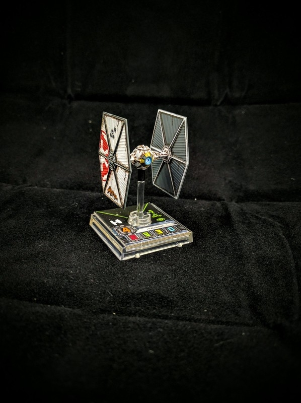 Forum Member - Panz3r - Custom Painted Tie Fighter