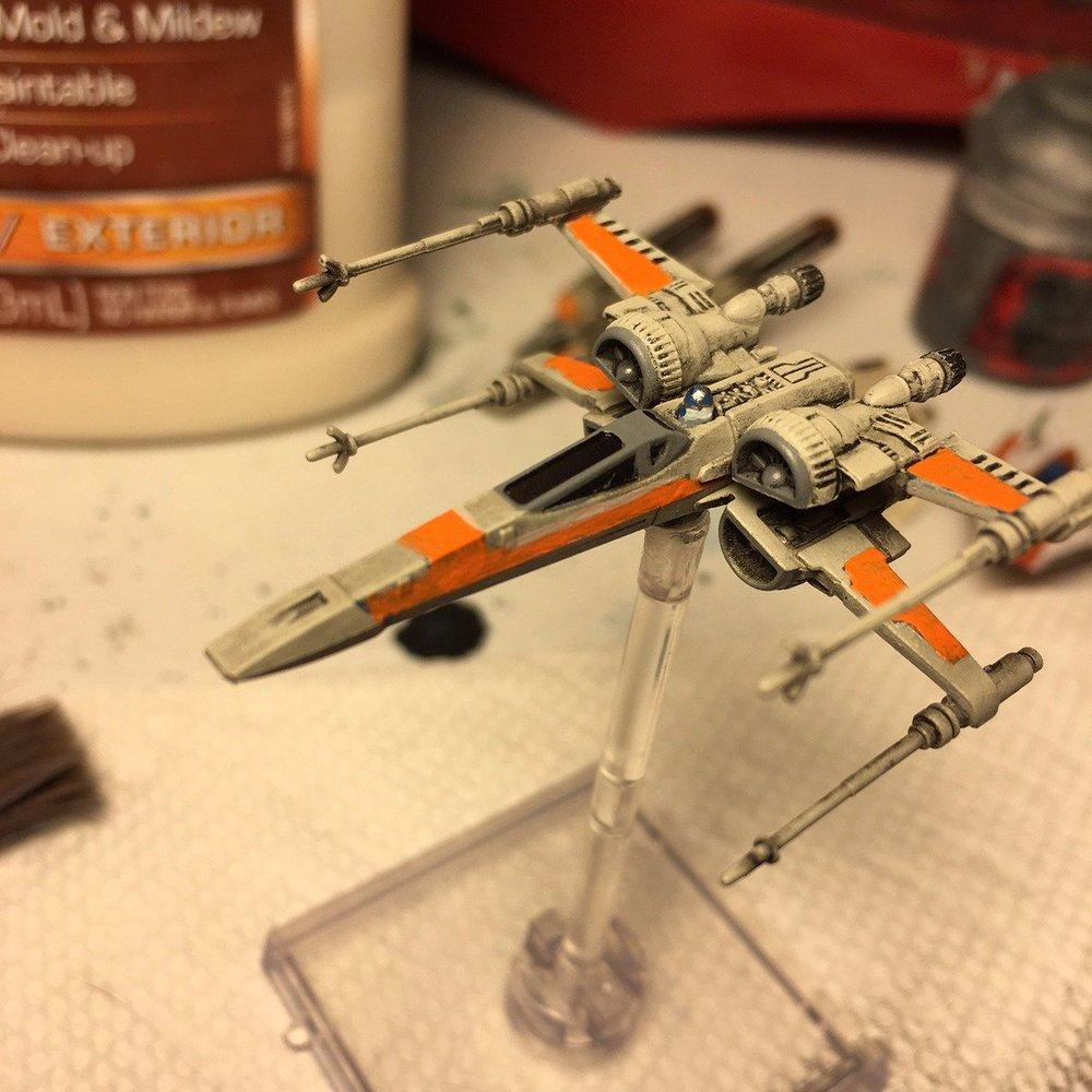 Forum Member - Timathius - X-Wing Repaint