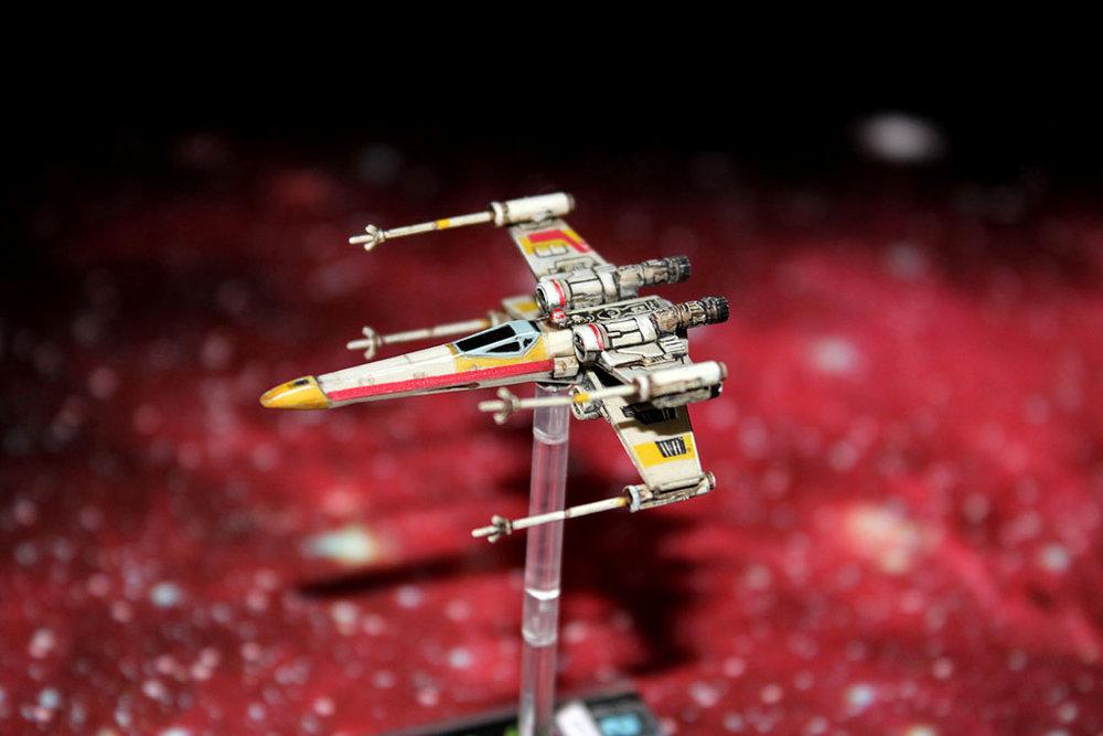 Forum Member - RobJedi - Repainted X-Wing Miniature