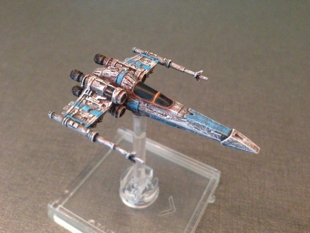 Forum Member - Veldrin - repainted X-Wing