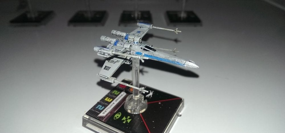 Forum Member - Arashi - Customised X-Wing Miniature