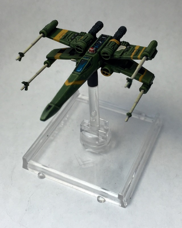 Forum Member - Piscopas - X-Wing Miniature Repainted