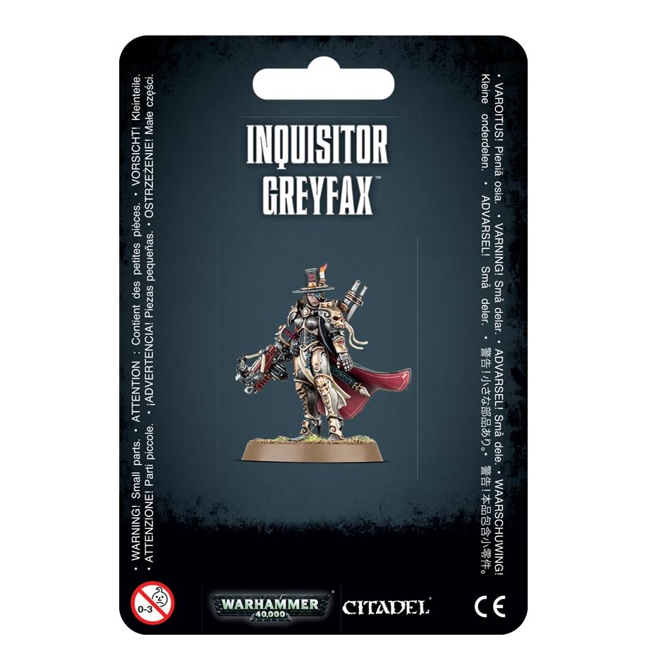 WH40k Astra Militarum - Inquisitor Greyfax