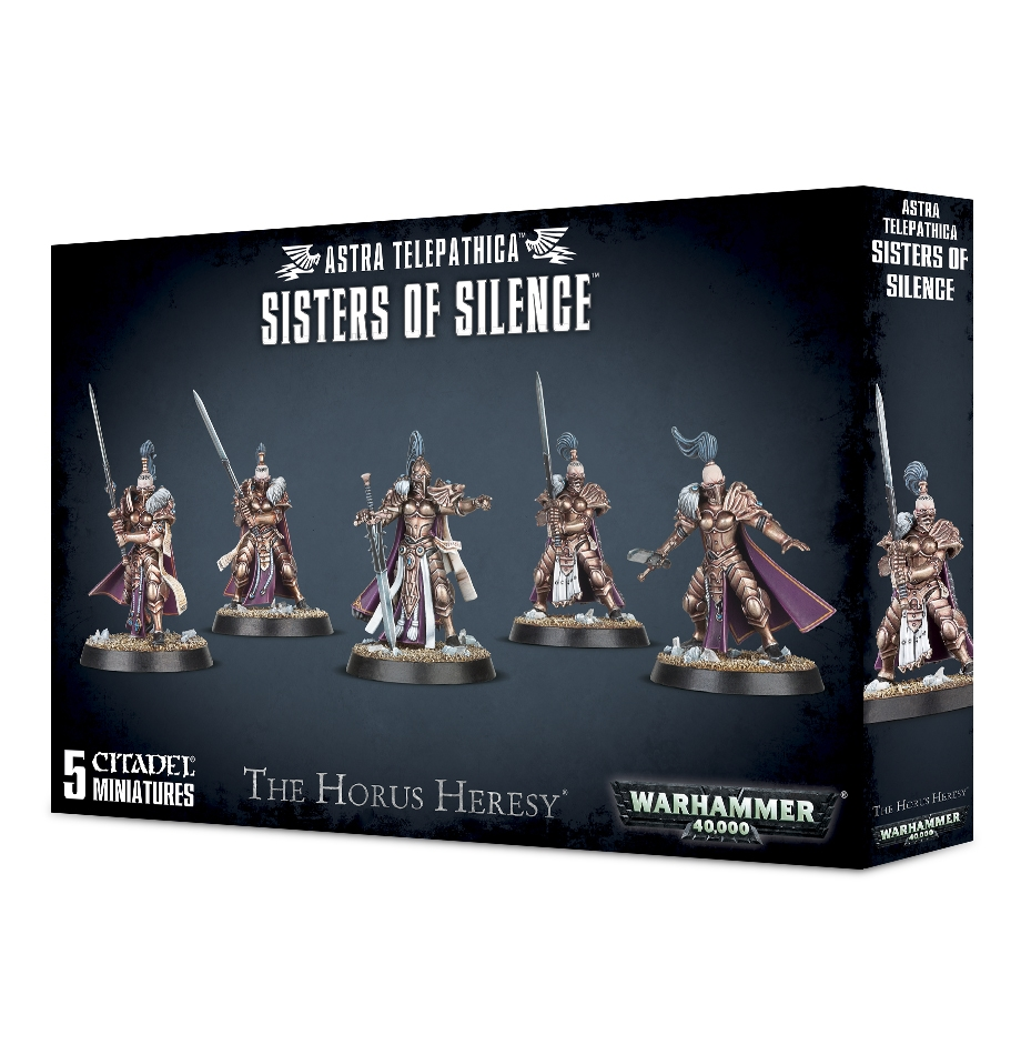 WH40k - Space Marines - Astra Telepathica Sisters of Silence