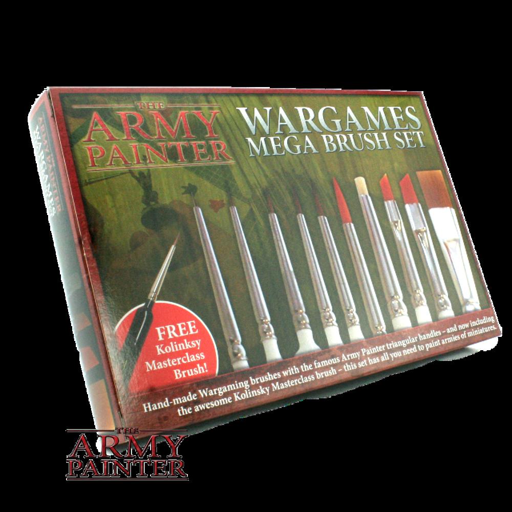 Army Painter Brushes - Mega Brush Set