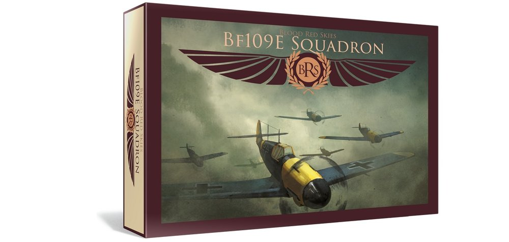 Warlord Games - Blood Red Skies - German BF ME109 Squadron